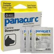 Merck Panacur C 1g 2g 4g 10 20 40 Lbs Canine Dewormer Treatment