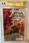 Han Solo Force Awakens 2 Cgc 9.8 Signed Harrison Ford Signature Series Comic