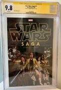 Han Solo Star Wars 1 Cgc 9.8 Signed By Harrison Ford Signature Series Comic