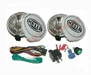 Hella Comet 500ff Kit Spot Driving Lamp Light + Cover 2 Unit For Jeeps Truck