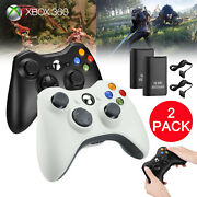 Usb Wired / Wireless Game Controller Gamepad Joystick For Microsoft Xbox 360 Pc
