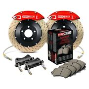 For Bmw 540i 97-03 Stoptech Performance Drilled 2-piece Rear Big Brake Kit