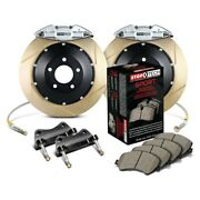 For Bmw 540i 97-03 Stoptech Performance Slotted 2-piece Rear Big Brake Kit