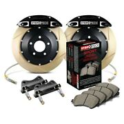 For Bmw 328i Gt Xdrive 14-16 Performance Slotted 2-piece Rear Big Brake Kit