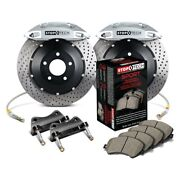 For Dodge Viper 92-95 Stoptech Performance Drilled 2-piece Rear Big Brake Kit