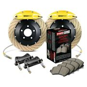 For Chevy Camaro 10-15 Stoptech Performance Drilled 2-piece Rear Big Brake Kit