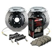 For Dodge Charger 06-15 Stoptech Performance Drilled 2-piece Rear Big Brake Kit