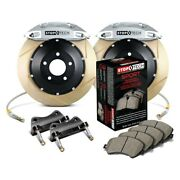 For Ford Fiesta 14-18 Stoptech Performance Slotted 2-piece Front Big Brake Kit