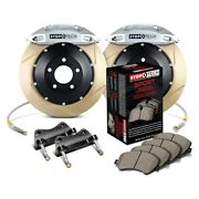 For Honda Civic 02-03 Stoptech Performance Slotted 2-piece Front Big Brake Kit