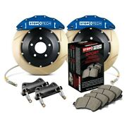 For Bmw 335i 07-13 Stoptech Performance Slotted 2-piece Front Big Brake Kit