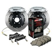 For Bmw M3 08-13 Stoptech Performance Slotted 2-piece Rear Big Brake Kit