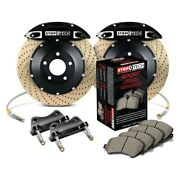 For Bmw M3 08-13 Stoptech Performance Drilled 2-piece Rear Big Brake Kit