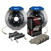 For Scion Fr-s 13-16 Stoptech Performance Drilled 2-piece Rear Big Brake Kit