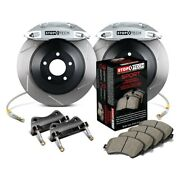 For Ford Mustang 05-14 Stoptech Touring Slotted 1-piece Front Big Brake Kit