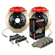 For Chevy Camaro 10-15 Stoptech Performance Slotted 2-piece Rear Big Brake Kit