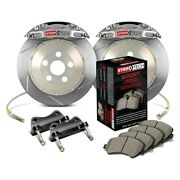 For Mazda Miata 05 Stoptech Trophy Sport Slotted 2-piece Front Big Brake Kit