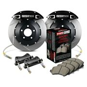 For Dodge Charger 06-10 Stoptech Performance Slotted 2-piece Rear Big Brake Kit