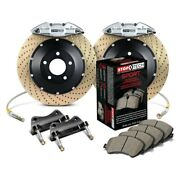For Bmw 325ci 06 Stoptech Performance Drilled 2-piece Rear Big Brake Kit