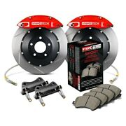 For Bmw 550i 06-10 Stoptech Performance Slotted 2-piece Rear Big Brake Kit