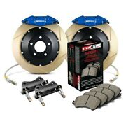 For Bmw 325ci 06 Stoptech Performance Slotted 2-piece Rear Big Brake Kit