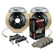 For Bmw M3 01-06 Stoptech Performance Drilled 2-piece Front Big Brake Kit