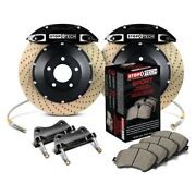 For Bmw 435i 14-16 Stoptech Performance Drilled 2-piece Rear Big Brake Kit