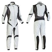 Omp Ia0185208348 One-s1 Series Silver W Black 48 Racing Suit