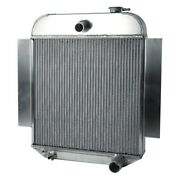 For Chevy Fleetmaster 42-48 Afco Street Rod Performance Radiator W Fan