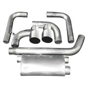 For Chevy Camaro 93-97 Exhaust System 304 Ss Transverse Turbo Dual Cat-back
