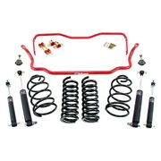 For Chevy Malibu 67 2 X 2 Stage 1.5 Front And Rear Handling Lowering Kit