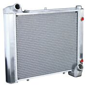 For Chevy Corvette 61-62 Dewitts 1149061a Direct Fit Hp Series Aluminum Radiator