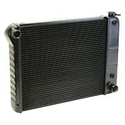 For Chevy Nova 69-72 Dewitts 1239011a Direct Fit Pro-series Aluminum Radiator
