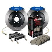 For Honda Accord 04-07 Stoptech Performance Slotted 2-piece Rear Big Brake Kit
