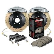 For Bmw 335i Xdrive 09-13 Performance Drilled 2-piece Front Big Brake Kit