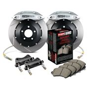 For Mazda Rx-8 04-11 Stoptech Performance Slotted 2-piece Front Big Brake Kit