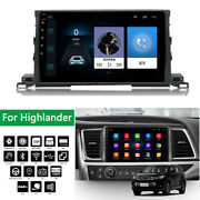 10.1and039and039 Touch Screen Car Stereo Radio Gps Obd Mp5 Dab For Highlander With Canbus