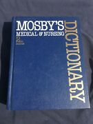 Mosby's Medical And Nursing Dictionary By Walter Glanze