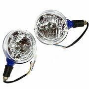 Headlight Headlamp Assembly+led Ring For New Holland Ford Farmtrac Tractor @ca