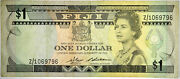 1983 Fiji 1 Dollar Nice Vf Replacement Z Note Priced Right Inv796
