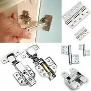 Stainless Damping Buffer Hydraulic Hinge Kitchen Cabinet Cupboard Door Hinges