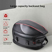 Pu Leather Motorcycle Rear Trunk Anti-scratch Saddlebags Travel Bags 16-21l