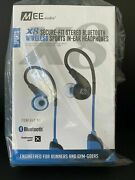 100 Pcs Lot Mee Audio X8 Secure-fit Stereo Bluetooth Wireless Sports In-ear