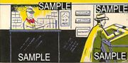 Plasticville Post Office Window Inserts Ho Scale Reproduction