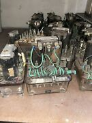 Lot Of 19 General Railway Signal Kb Time Relay Grs Railroad Variety Of Sizes