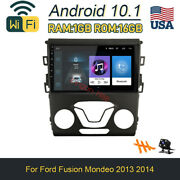 Android10.1 Car Dvd Player Radio Wifi Stereo Gps Navi For Ford Fusion Mondeo