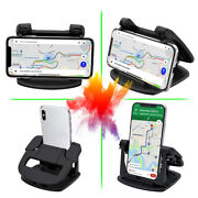 360 Degree Car Mount Dashboard Holder Stand For Cell Phone Iphone Universal
