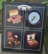 1994 Savinelli Catalog Pipes-tools-humidors/wood Items-corona Lighters 37 Pages