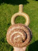 Moche Phase 1 Effigy Vessel Dual Snakes Precolumbian Mayan Make An Offer