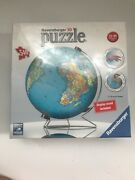 Ravensburger, 3d Puzzleball Globe, 540 Pieces, Puzzle, New Display Included