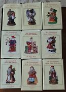 The International Santa Claus Collection Lot Of 9